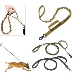 Retractable nylon rope Dog Leash Tactical K9 for large dog H