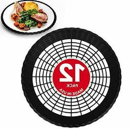 Reusable Plastic Paper Plate Holders 9 Inch Durable And Heav