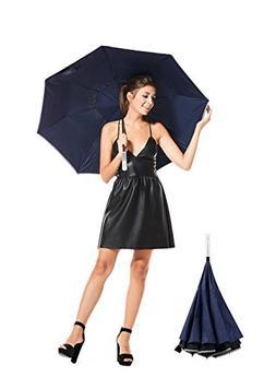Reverse folding umbrella windproof – G.Liane UB002  Invert