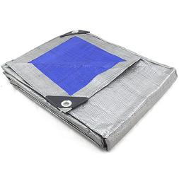 REVERSIBLE MULTI PURPOSE WEATHER RESISTANT POLY TARP Heavy D