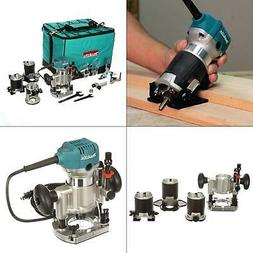 Makita RT0701CX3 1-1/4 HP Compact Router Kit with Attachment