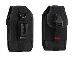 Rugged Case Durable Pouch Cover Holster Metal Clip with Belt