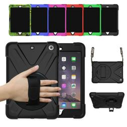 Rugged Heavy Duty Protective Case Cover for iPad Mini 1 2 3