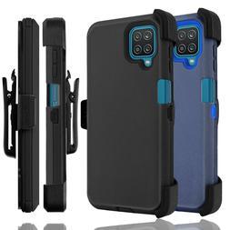 For Samsung Galaxy A12 A32 5G Case Holster Belt Clip Stand H