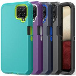 For Samsung Galaxy A12 A32 A52 Case Heavy Duty Shockproof De