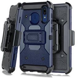 For Samsung Galaxy A20 A50 Heavy Duty Hybrid Holster Case Be