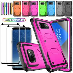 Slim Shockproof 360 Case+Screen Protector For Samsung Galaxy
