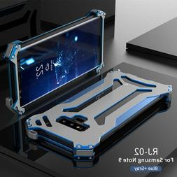 For Samsung S20 Note 20 S10/S9 Metal Aluminum Armor Bumper C