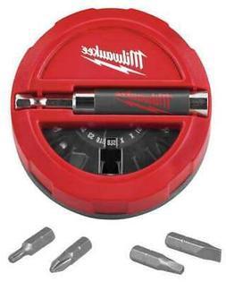 "MILWAUKEE 48-32-1700 Screwdriver Bit Set, 1/4"" Shank, 20 pc."