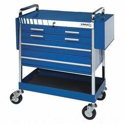 Service Cart,5 Drawer,Heavy Duty,Blue SUNEX TOOLS 8045BL