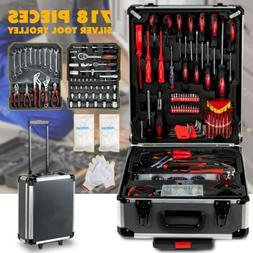999 pcs Tool Set Standard Metric Mechanics Kit Case Box Orga
