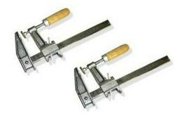 """Set of 2-12"""" BAR CLAMP Heavy Duty Woodworking Carpenter 2.5'"""