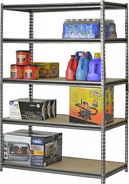 Shelves 4-5 Levels Heavy Duty Metal Muscle Rack Adjustable S