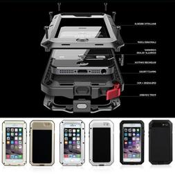 Shockproof Aluminum Glass Metal Heavy Duty Case Cover for iP