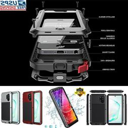 Aluminum Heavy Duty Case Cover Samsung Note 10 Plus S10 S9 8
