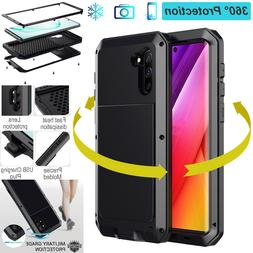 Heavy Duty Shockproof Aluminum Metal Case Cover For Samsung