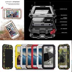 Shockproof Military Heavy Duty Gorilla Glass Metal Cover Cas