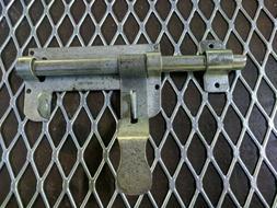 Slide Bolt Gate Latch Steel for Metal Gates Doors Heavy Duty