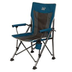 Timber Ridge Camping Chair Ergonomic High Back Support 300lb