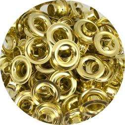 """Springfield Leather Company Solid Brass 1/2"""" Grommets 10 Pac"""