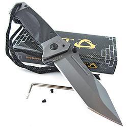 TEK Spring Assisted Opening HEAVY DUTY Folding Pocket Knife: