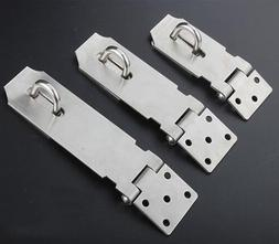 Stainless Steel Heavy Duty Hasp and Staple Gate Shed Door Lo