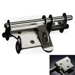 Stainless Steel Lock Latch Heavy Duty Slide Bolt Buckle Meta