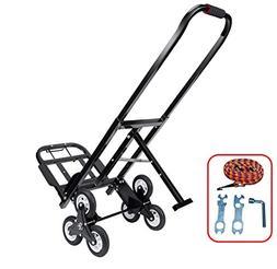 Mecete Stair Climbing Cart Portable Climbing Cart 330 lb Lar