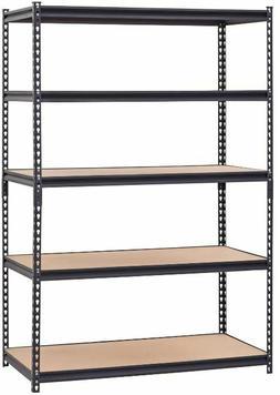 Steel Metal Storage Shelf Garage Heavy Duty 5 Shelves Adjust