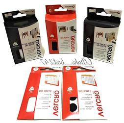 VELCRO® Stick On Self Adhesive Mounting Tape Strips Coin Ho