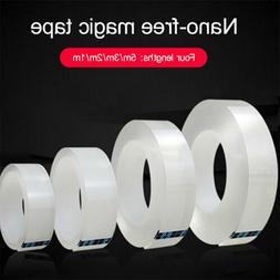 Sticky Pads Adhesive Gel Tape Double Side Nano Tape Transpar