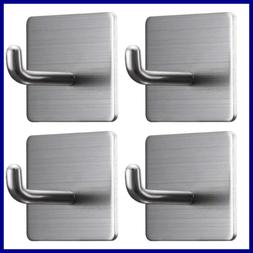 Strong Adhesive Hooks Heavy Duty Wall Towel For Hanging Wate