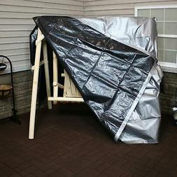 Sunnydaze 12' x 20' Heavy-Duty Multi-Purpose Waterproof Gray