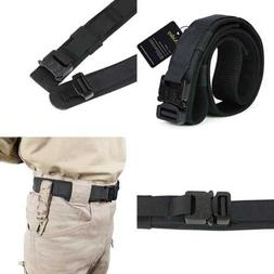 Aiduy Tactical Belt Heavy Duty Waist Adjustable Military Sty