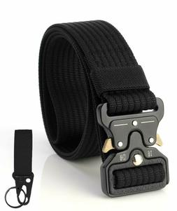 Tactical Belt Heavy Duty Military Nylon Quick-Release Metal