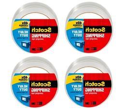 Scotch Heavy Duty Shipping Packaging Tape, 1.88 x 65.6 Yards