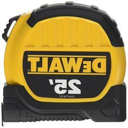 DEWALT 25' TAPE MEASURE DWHT36107 10' STANDOUT BRAND NEW HEA