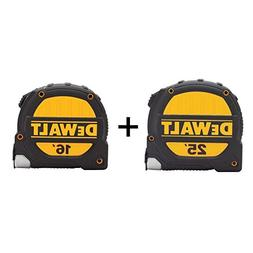 DEWALT DWHT74441 Dewalt 25 ft. and 16 ft. Tape Measure Set