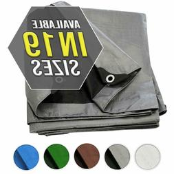Tarp Cover Waterproof  ~  Available in Multiple Colors, Size