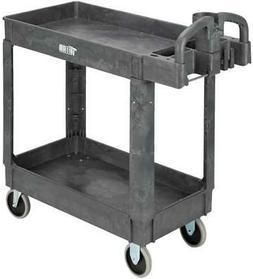 Tool Cart Plastic Utility Rolling Service Heavy Duty Cart Pa