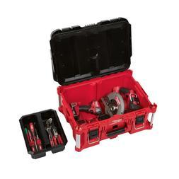Tool Storage Box Large Heavy Duty Stackable Jobsite Modular