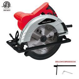 """Toolman Heavy Duty 12 Amp 7-1/4"""" Adjustable Electric Circula"""