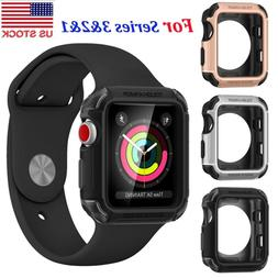 Tough Armor Heavy Duty Case Cover For iWatch Apple Watch Ser