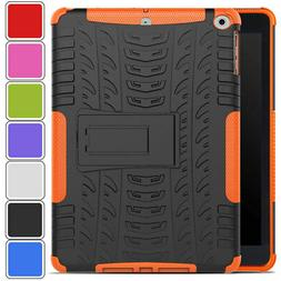 """Tough Heavy Duty Rubber Case Cover For New iPad 6th Gen 9.7"""""""