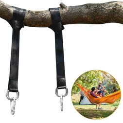 Tree Strap Hammock Strap w/ Snap Hooks Heavy Duty Storage Ba