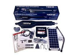 Ghost Controls TSS1XP Heavy-Duty Solar Single Automatic Gate