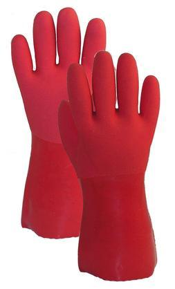 Ultimate Garden/Household Gloves in 3 Sizes, Heavy Duty Viny