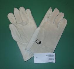 US Military Issue Heavy Duty White Leather Cattlehide Work G