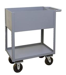 Durham Manufacturing Stock Utility Cart with Lips Up