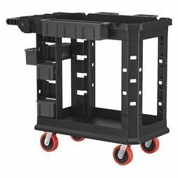 SUNCAST COMMERCIAL PUCHD1937 Plastic Heavy Duty Utility Cart